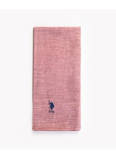 Akel Tesettür Tarçın Emprime Pamuklu Nakışlı Fular-Şal 38-Y Pudra